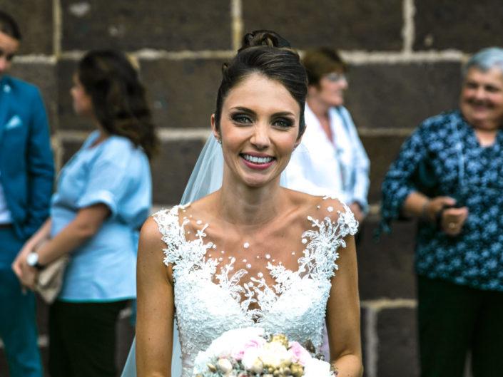 Mariage en Lozère - sortie église